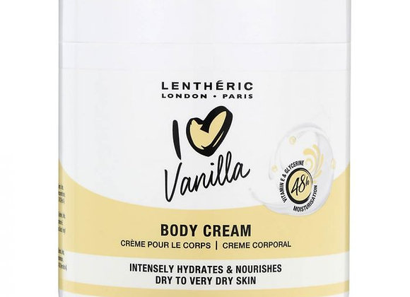 Lentheric I Love Vanilla Body Cream 450ml