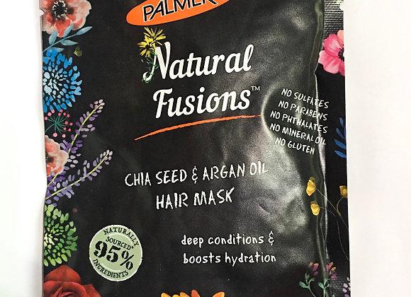 Palmer's Natural Fusions. Chia Seed & Argan Oil Hair Mask (60g)