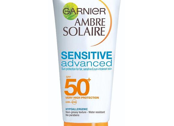 Garnier Ambre Solaire Sensitive Advanced SPF 50+ (50ml)