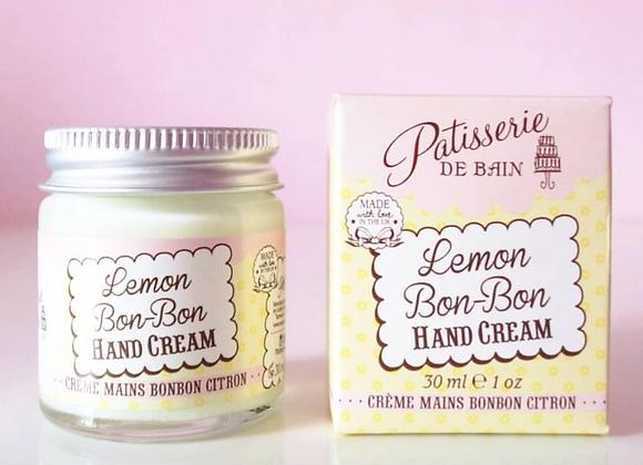Patisserie de Bain Hand Cream Jar Lemon Bon-Bon (30ml)