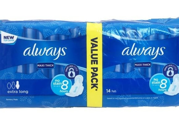 Always Maxi Thick Pads 14pcs