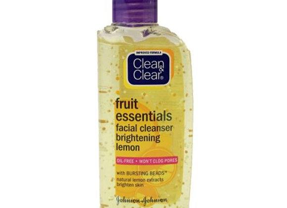 Clean & Clear Fruit Essentials Facial Cleanser Brightening Lemon 100ml