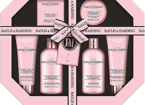 Baylis & Harding Jojoba, Vanilla & Almond Oil Ultimate Bathing Giftset