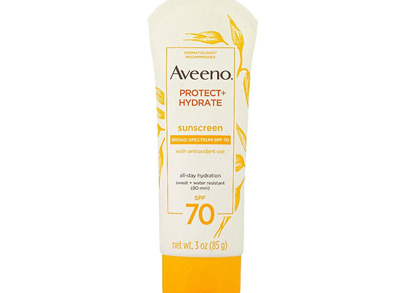 Aveeno Protect + Hydrate Lotion Sunscreen SPF 70 85g