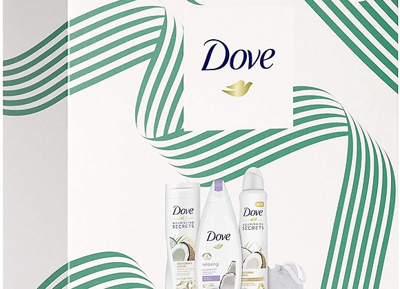 Dove Relaxing Care Triple Gift Set