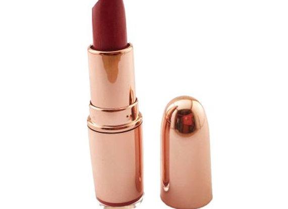 Makeup Revolution Rose Gold Moisturizing Lipstick - Shade Diamond Life