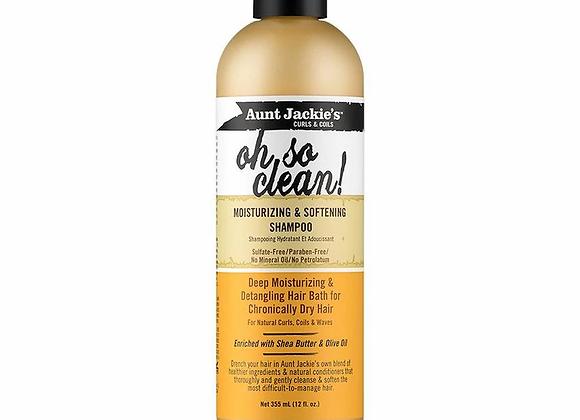 Aunt Jackie's Oh So Clean! Moisturizing & Softening Shampoo