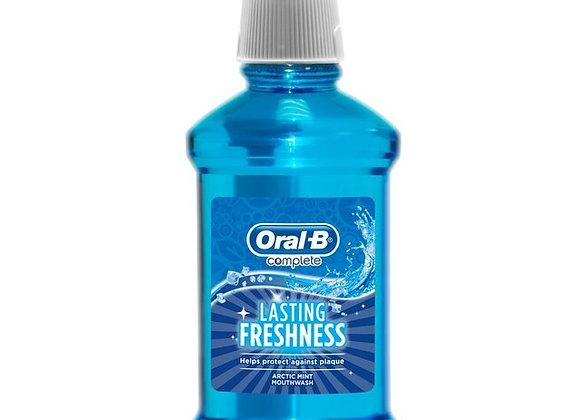 Oral-B Complete Lasting Freshness Mouthwash, 250ml