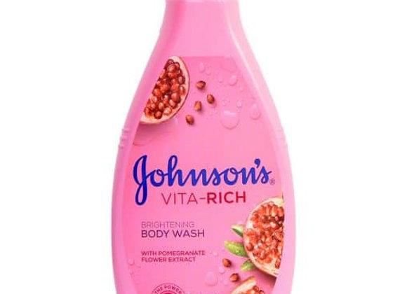 Johnson's Vita Rich Brightening Body Wash with Pomegranate Flower Extract