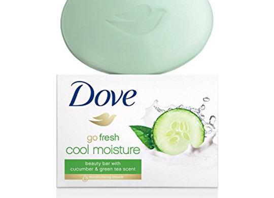 Dove Beauty Bar Go Fresh Soap, 135g