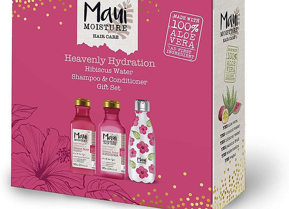 Maui Moisture Gift Set, with Reusable Water Bottle