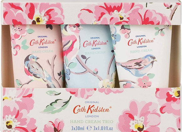 Cath Kidston Hand Cream Trio, 3 x 30ml