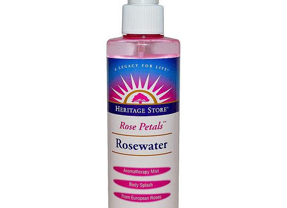 Heritage Store Rose Petals Rosewater 237ml