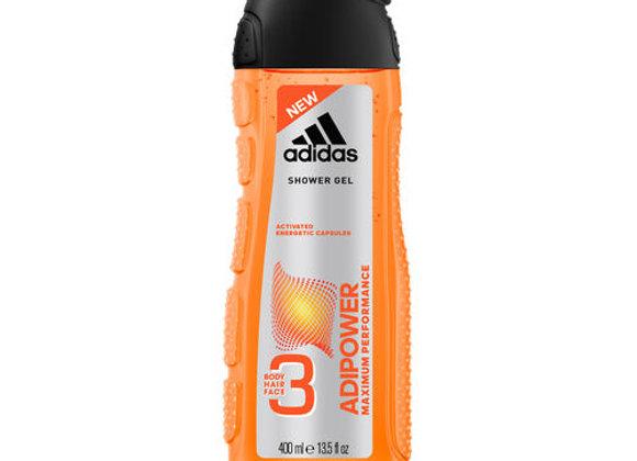 Adidas Adipower Maximum Performance Shower Gel For Men 400ml
