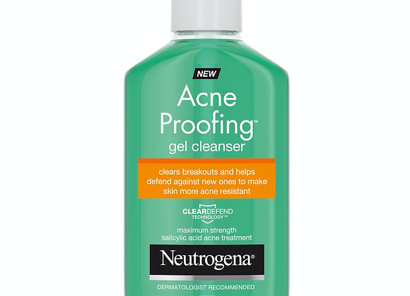 Neutrogena Acne Proofing Gel Facial Cleanser with Salicylic Acid 170g