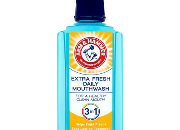 Arm & Hammer Extra Fresh Daily Mouth Wash, 400ml