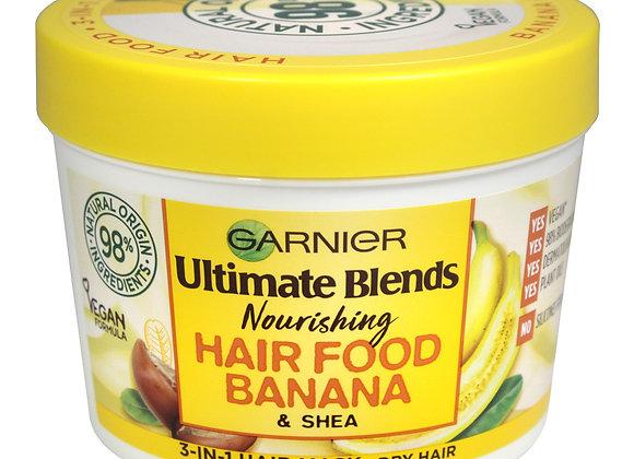 Garnier Ultimate Blends Nourishing Hair Food Banana + Shea 390ml