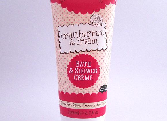 Patisserie De Bain Cranberries & Cream Bath & Shower Creme (200ml)