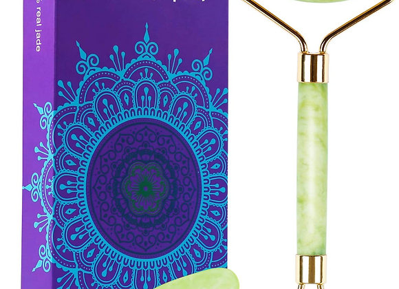 Millenial Glow Jade Roller Gua Sha Set