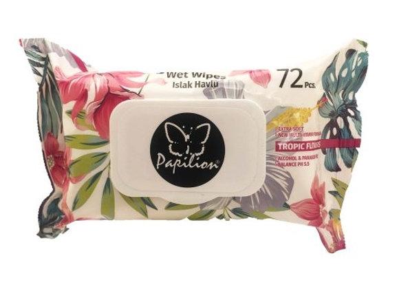 Papilion Wet Wipes 72pcs