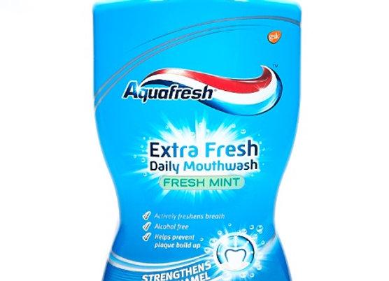 Aquafresh Extra Fresh Daily Mouthwash - Fresh mint  (500 ml)