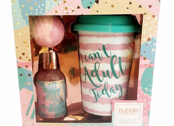 Style & Grace Bubble Boutique Travel Mug Set