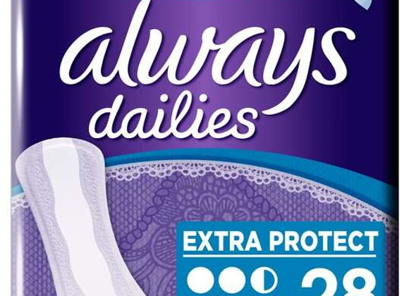 Always Dailies Extra Protect Large 28