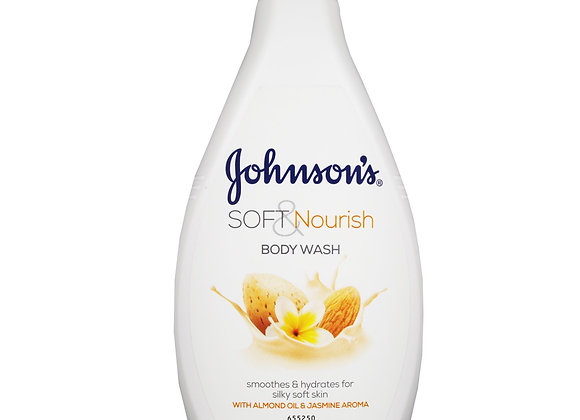 Johnson's Soft & Nourish Body Wash 400ml