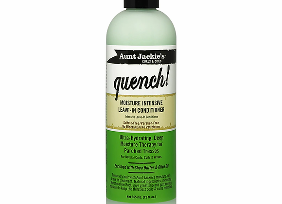Aunt Jackie's Curls & Coils Quench! Moisture Intensive Leave-In Conditioner