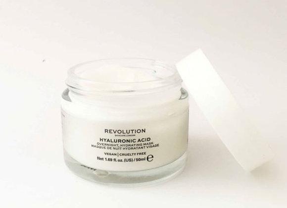 Revolution Hyaluronic Acid Overnight Hydrating Face Mask