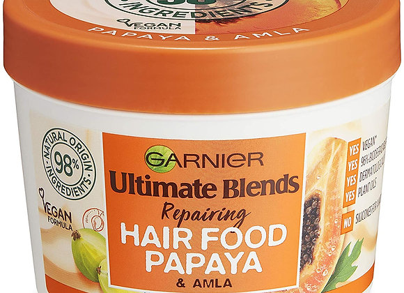 Garnier Ultimate Blends Repairing Hair Food Papaya & Amla 390ml