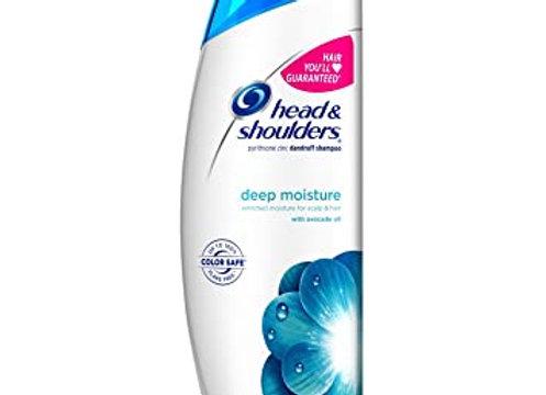 Head & Shoulders Deep Moisture Anti-Dandruff 2-in-1 Shampoo & Conditioner, 380ml