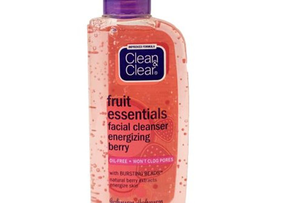 Clean & Clear Fruit Essentials Facial Cleanser Energizing Berry