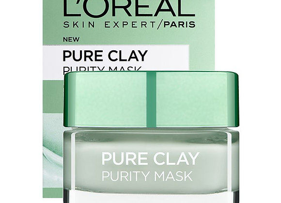 L'oreal Paris Pure Clay Purity Mask (50ml)