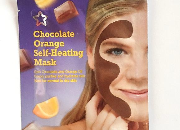 Chocolate Orange Self-Heating Face Mask