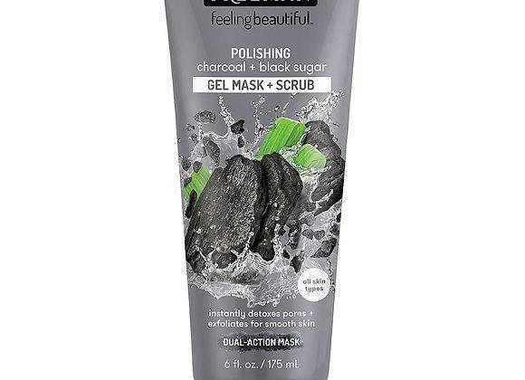 Freeman Charcoal & Black Sugar Facial Polishing Scrub