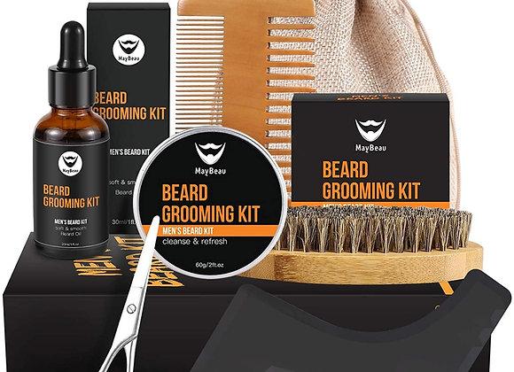 MayBeau Beard Kit for Men 6 Piece Kit