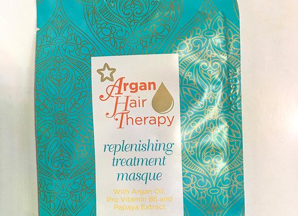 Argan Hair Therapy Replenishing Treatment Masque (17ml)