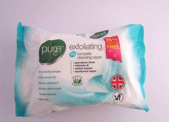 Pure Exfoliating Wipes (25)