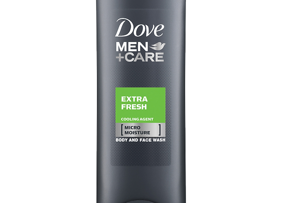 Dove Men+Care Extra Fresh Body+Face Wash 400ml