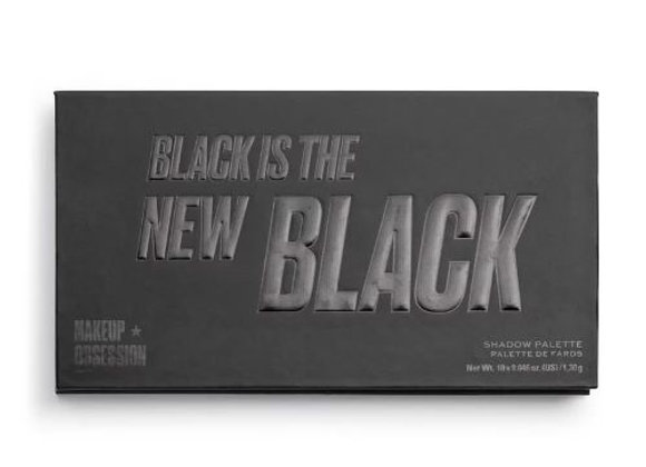MakeUp Obsession Shadow Palette Black Is The New Black
