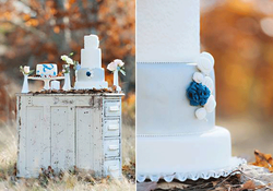 Blue Willow Inspired Cakes