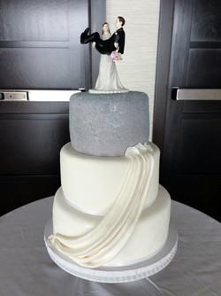 Sugared Bling Wedding Cake