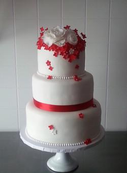 Fondant Bouquet Cake