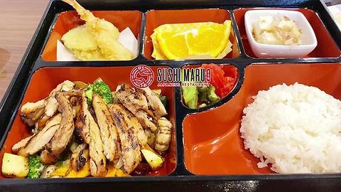 Sushi Maru Japanese Restaurant Bento Box