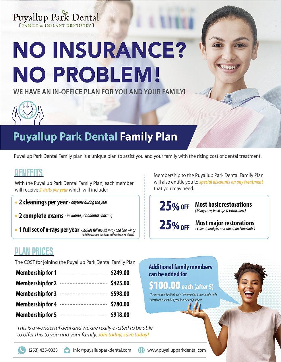 Puyallup Park Dental_Dental Membership P