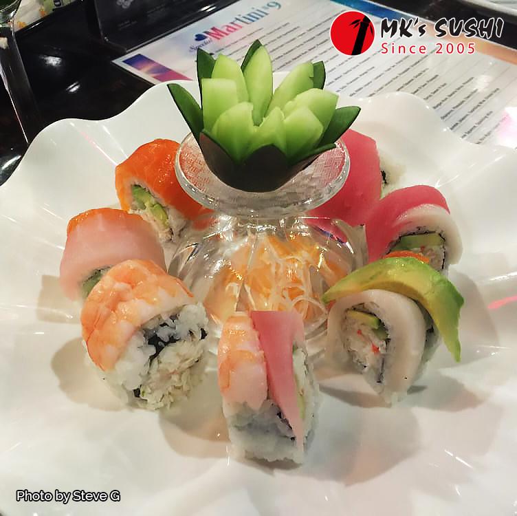 Mk Sushi Western Center- Photo by Steve