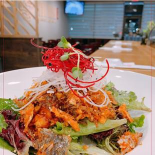 Sushi Maru Japanese Restaurant_Salmon Skin Salad.jpg