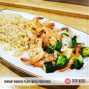 Sushi Maru Japanese Restaurant_Shrimp Hibachi Plate with Fri