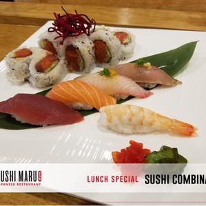 Sushi Maru Japanese Restaurant [Lunch Special] Sushi Combina